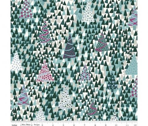 Liberty of London Seasons Greetings Collection Sparkling Forest X